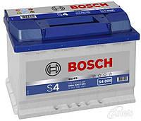 Аккумулятор BOSCH S4 74Ah-12v (278x175x190) левый +