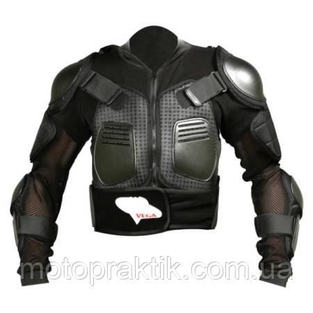 VEGA NM-606 Protective Black Jacket, S Моточерепаха захисна