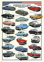 Пазл Американские автомобили 1950х