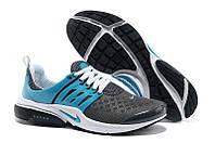"""Кроссовки Nike Air Presto 2 Carving """"Grey Light Blue"""" - """"Серые Голубые"""" (Копия ААА+), фото 1"""