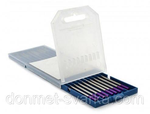 Вольфрамовый электрод  E3 (фиолетовый, со смесью оксидов)