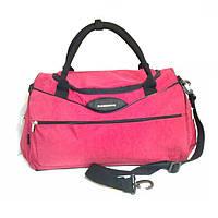 Спортивно-дорожная сумка маленькая красная 45x27x22 см, фото 1