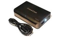 Универсальная мобильная батарея FrimeCom 4S-BK black (6000mA, 1xUSB, 5V / 2A, 4 светодиодных индикатора уровня
