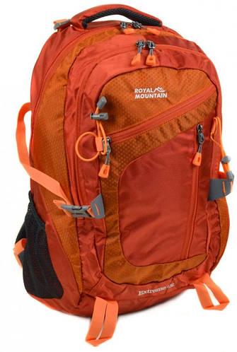 Незаменимый туристический рюкзак 45 л. Royal Mountain 8431 orange оранжевый