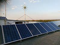 Установка СЭС под «зеленый тариф» в п. Марьинское, Днепропетровской области (фотоотчет)