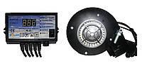 Комплект автоматики Nowosolar для твердотопливных котлов (контроллер PK-22 + турбина NWS 75)