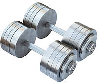 Гантели наборные 2*30 кг (Общий вес 60 кг) Металл (гантелі розбірні наборні наборные для дома дешёвые 30 кг)