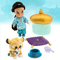 Кукла Джасмин мини-аниматор Дисней Disney Animators Collection  Jasmine Mini