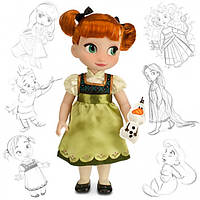 Кукла Анна аниматор Дисней Disney Animators Collection Anna
