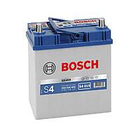 Аккумулятор BOSCH S4 40Ah-12v (187x127x200) левый +