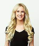 Зріз слов'янських волосся 60см. Колір #Блонд, фото 7