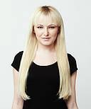 Зріз слов'янських волосся 60см. Колір #Блонд, фото 8