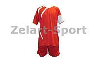 Форма футбольна без номера (червоний)