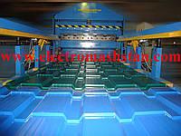 Автоматизированная линия для производства металлочерепицы