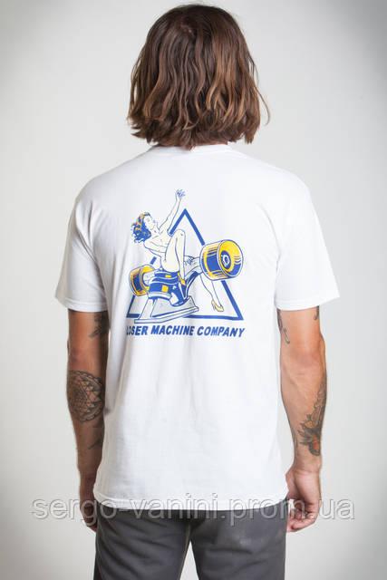Футболка для мужиков с принтом Desire Tee Loser Machine