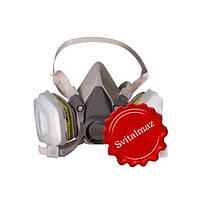 Респиратор для защиты 3М 6000, 3М респиратор 6000 от пыли и грязи, купить 3М6200 в Коростышеве.