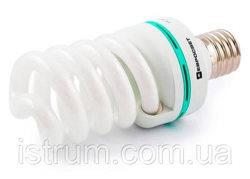 Лампа энергосберегающая 45Вт Е40 4200К (Евросвет)