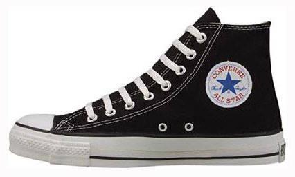 Мужские кеды Converse All Star High black, Конверс Ол Стар, фото 2
