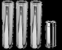 Термотруба дымоходная нерж/оц. 0,6, 200/270х1м,  AISI 430