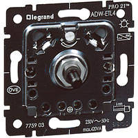 Механизм светорегулятора поворотного 40-420Вт Legrand PRO 21
