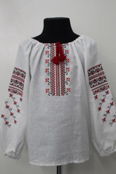 Вишиванка для дівчинки  Орнамент Блузка 0cd024f436e0d
