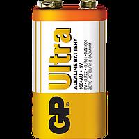 Батарейка GP 1604AU-S1 Ultra Alkaline 6LF22 9V крона (трей)