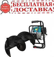 Мотобур бензиновый SADKO AG-52N (шнек 300мм)