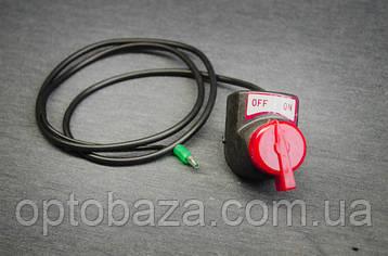 Перемикач Вкл/Викл з проводом для бензинового мотоблока серії 500 - 900., фото 2