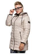 Модная зимняя куртка на ситепоне