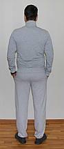Мужской спортивный костюм Puma серый Турция реплика, фото 3