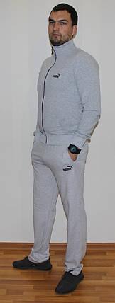 Мужской спортивный костюм Puma серый Турция реплика, фото 2