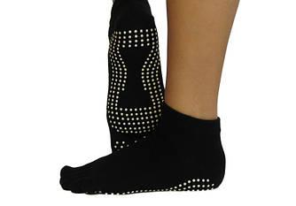 Черные носки для йоги