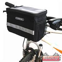 Крепкая велосипедная вместительная сумка Roswheel