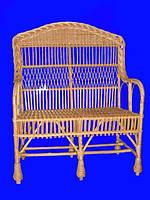 Мебель из лозы, Диван Словацкий М 08