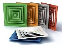 Потолочный диффузор ПДК любой цвет по RAL