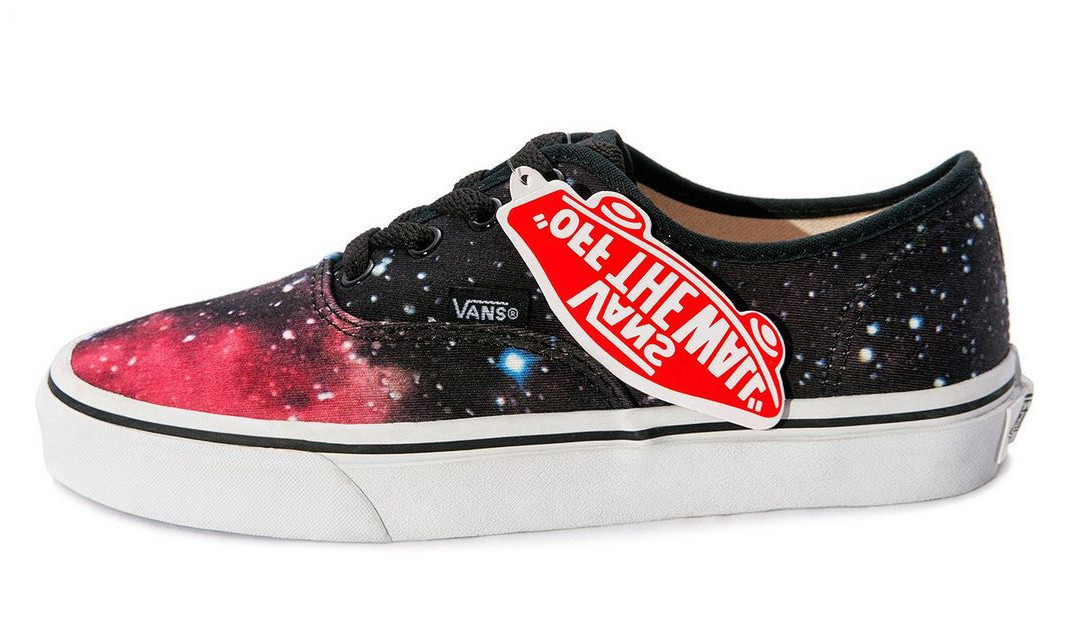 Женские кеды Vans AUTHENTIC Red Space, Ванс Аутентик