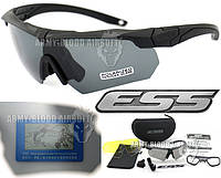 Тактические поляризованные очки ESS Crossbow Polarized с 3 линзами, фото 1