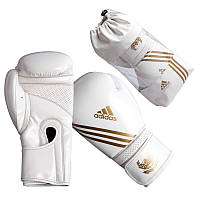 Боксерские перчатки Hybrid Aero Boxing бело-зол