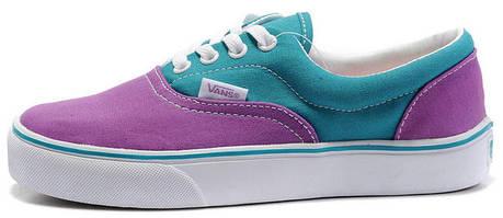 9d1265960b Женские кеды Vans ERA Purple Blue купить в интернет-магазине обуви ...