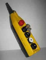 Пульт управления 5 кнопочный подвесной (4 кнопку и кнопка с ключом и авар стоп d = 30 mm) (2 скорости)