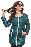Отличная удлиненная куртка на весну на тонком синтепоне