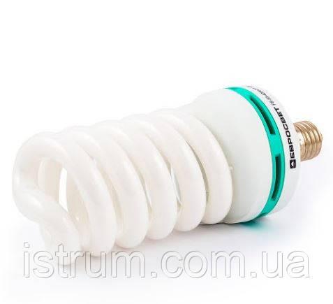 Лампа энергосберегающая 55Вт Е27 4200К (Евросвет)