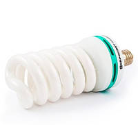 Лампа энергосберегающая 55Вт Е27 4200К (Евросвет), фото 1