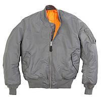 Летная куртка MA-1 Alpha Industries (вороненый металл)