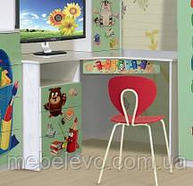 Стол письменный Мульти угловой 750х1210х1210мм Світ Меблів, фото 3