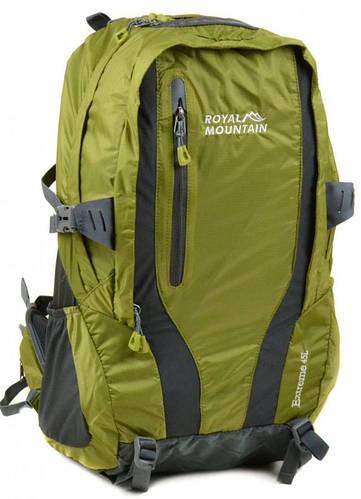 Классический туристический рюкзак 45 л. Royal Mountain 8331 green зеленый