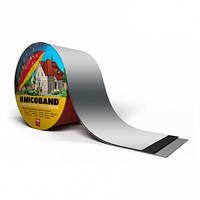Nicoband 10 см металлик
