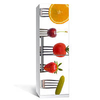 Наклейка на холодильник Вилка