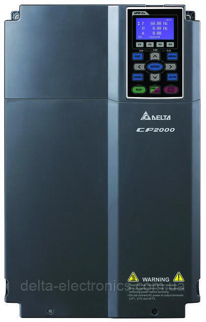 Преобразователь частоты Delta Electronics, 18,5 кВт, 400В,3ф.,векторный, c ПЛК, VFD185CP43B-21