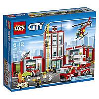 Lego City Пожарная часть 60110